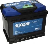 Автомобильный аккумулятор Exide Excell EB621 (62 А/ч) -
