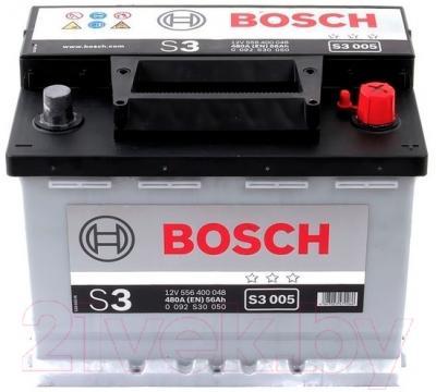 Автомобильный аккумулятор Bosch 0092S30050 (56 А/ч)