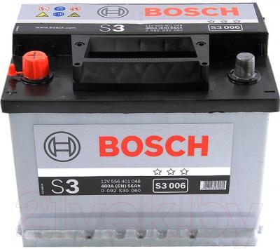 Автомобильный аккумулятор Bosch 0092S30060 (56 А/ч)