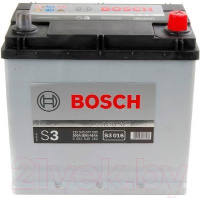 Автомобильный аккумулятор Bosch 0092S30160 (45 А/ч)