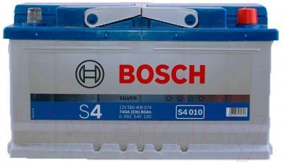 Автомобильный аккумулятор Bosch 0092S40100 (80 А/ч)