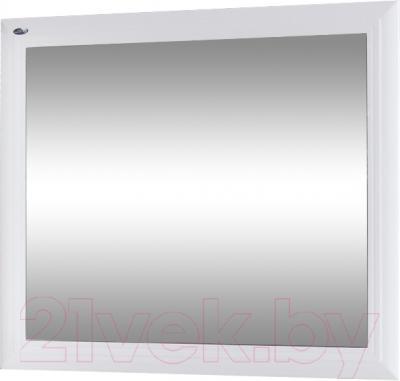 Зеркало интерьерное Гамма 25 (белый)