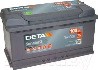 Автомобильный аккумулятор Deta Senator DA1000 (100 А/ч)