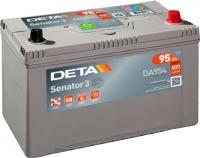 Автомобильный аккумулятор Deta Senator3 DA954 (95 А/ч) -