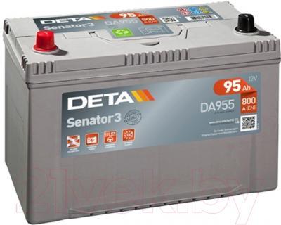 Автомобильный аккумулятор Deta Senator3 DA955 (95 А/ч)