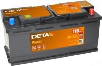 Автомобильный аккумулятор Deta Power DB1100 (110 А/ч) -