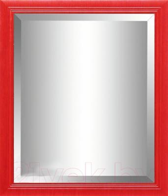 Зеркало интерьерное Гамма 25 (красный металлик)