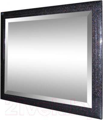 Зеркало интерьерное Гамма 25 (черный металлик)