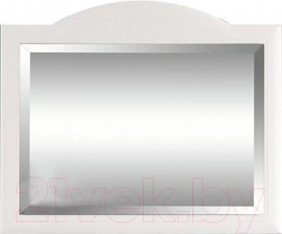 Зеркало интерьерное Гамма Люкс (белый)