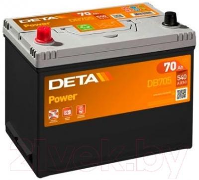 Автомобильный аккумулятор Deta Power DB705 (70 А/ч)
