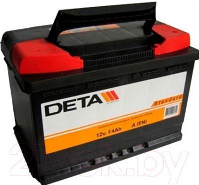 Автомобильный аккумулятор Deta Standard DC440 (44 А/ч)
