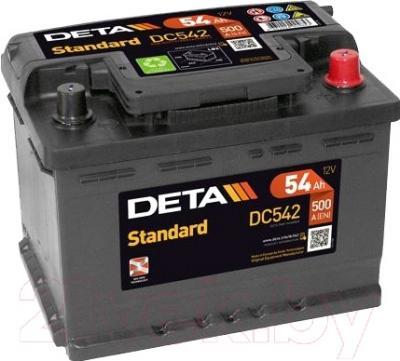 Автомобильный аккумулятор Deta Standart DC542 (54 А/ч)