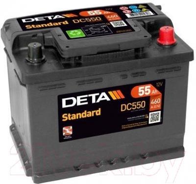 Автомобильный аккумулятор Deta Standard DC550 (55 А/ч)