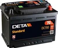 Автомобильный аккумулятор Deta Standard DC700 (70 А/ч) -