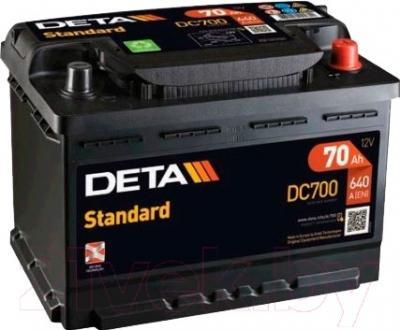 Автомобильный аккумулятор Deta Standard DC700 (70 А/ч)