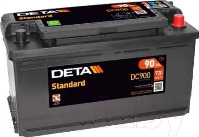 Автомобильный аккумулятор Deta Standard DC900 (90 А/ч)
