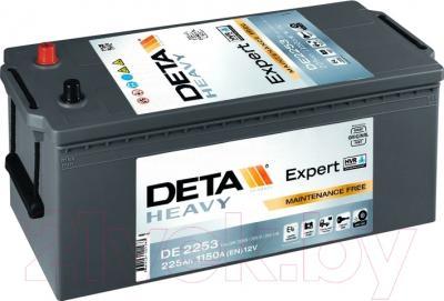 Автомобильный аккумулятор Deta Expert HVR DE2253 (225 А/ч)