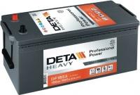 Автомобильный аккумулятор Deta Professional Power DF1853 (185 А/ч) -