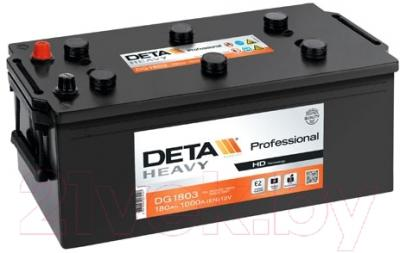 Автомобильный аккумулятор Deta Professional DG1803 (180 А/ч)