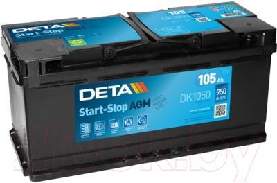 Автомобильный аккумулятор Deta Start-Stop AGM DK1050 (105 А/ч)