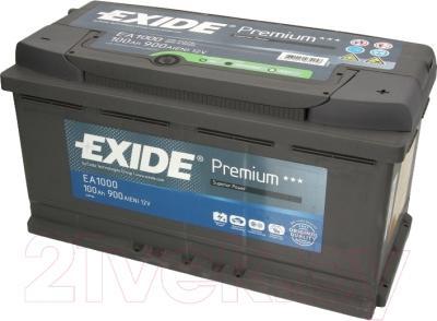 Автомобильный аккумулятор Exide Premium EA1000 (100 А/ч)