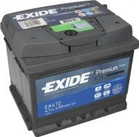 Автомобильный аккумулятор Exide Premium EA472 (47 А/ч) -