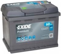 Автомобильный аккумулятор Exide Premium Carbon Boost EA601 (60 А/ч) -