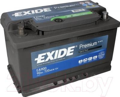 Автомобильный аккумулятор Exide Premium EA900 (90 А/ч)