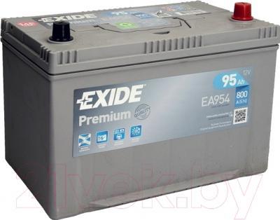 Автомобильный аккумулятор Exide Premium EA954 (95 А/ч)