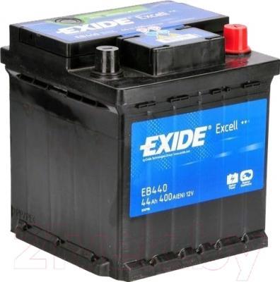 Автомобильный аккумулятор Exide Excell EB440 (44 А/ч)