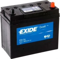 Автомобильный аккумулятор Exide Excell EB456 (45 А/ч) -