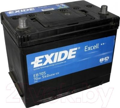 Автомобильный аккумулятор Exide Excell EB705 (70 А/ч)