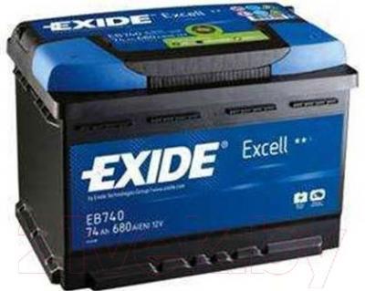 Автомобильный аккумулятор Exide Excell EB741 (74 А/ч)