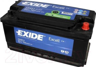 Автомобильный аккумулятор Exide Excell EB852 (85 А/ч)