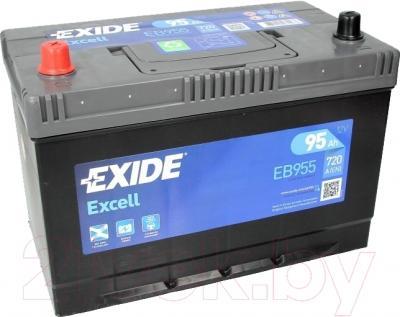 Автомобильный аккумулятор Exide Excell EB955 (95 А/ч)