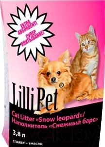 Наполнитель для туалета Lilli Pet Snow Leopard 20-9955 (3.8л)