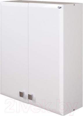 Шкаф для ванной Гамма 40.06 Ф2 (белый)