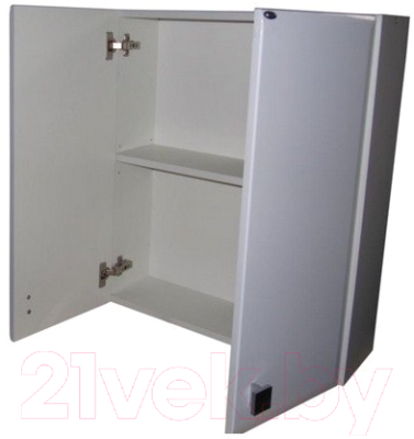 Шкаф для ванной Гамма 41.06 Ф2 (белый)
