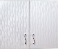Шкаф для ванной Гамма 41.06 Ф2 (волна) -