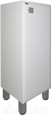 Шкаф-полупенал для ванной Гамма 30.30 оФ2 (белый, с ящиком, правый)