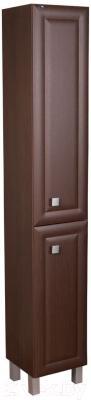 Шкаф-пенал для ванной Гамма 50.03 ОФ2 (древоподобный, филенка, правый)