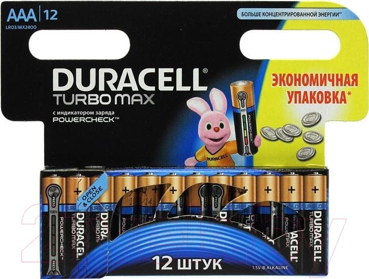Батарейки ААА Duracell