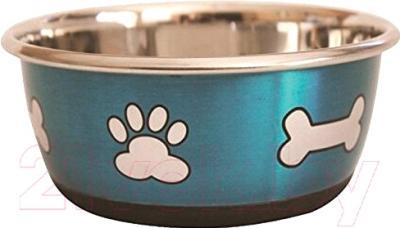Миска для животных Lilli Pet Metal Star Bones 20-5624
