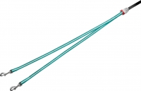 Сворка Flexi Vario Duo Belt FLX404 (S, бирюзовый) -