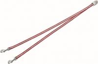 Сворка Flexi Vario Duo Belt FLX400 (S, красный) -