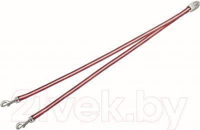 Сворка Flexi Vario Duo Belt FLX400 (S, красный)