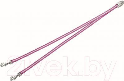 Сворка Flexi Vario Duo Belt FLX401 (S, розовый)