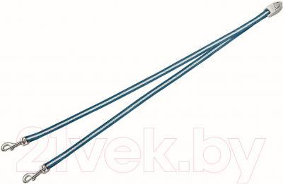 Сворка Flexi Vario Duo Belt FLX402 (S, синий)