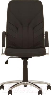 Кресло офисное Nowy Styl Manager Steel Chrome (ECO-30) - вид спереди