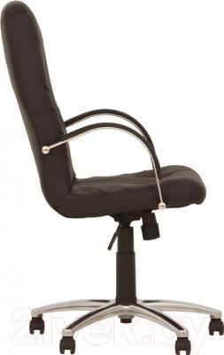 Кресло офисное Nowy Styl Manager Steel Chrome (ECO-30) - вид сбоку